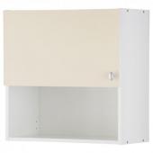 ОВЕРБУ Навесной шкаф с дверцей, бежевый, 60x60 см