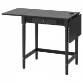 ИНГАТОРП Письменный стол,черный