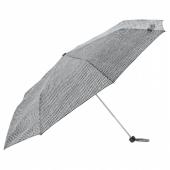 КНЭЛЛА Зонт,складной черный/белый