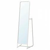 КНАППЕР Зеркало напольное, белый, 48x160 см
