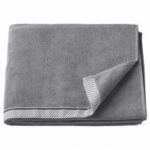 ВИКФЬЕРД Банное полотенце, серый, 70x140 см