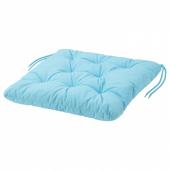 КУДДАРНА Подушка на садовый стул, голубой, 44x44 см