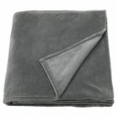 ТРАТТВИВА Покрывало, серый, 150x250 см