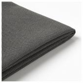 ФРЁСЁН Чехол для подушки на сиденье/спинку, для сада темно-серый, 116x45 см