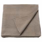 ИНДИРА Покрывало, светло-коричневый, 230x250 см