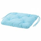 КУДДАРНА Подушка на садовый стул, голубой, 36x32 см