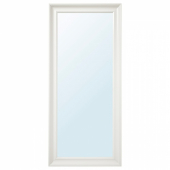 ХЕМНЭС Зеркало, белый, 74x165 см