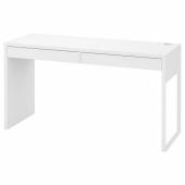 МИККЕ Письменный стол,белый