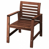ЭПЛАРО Садовое кресло,коричневая морилка
