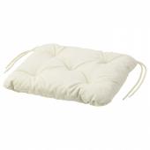 КУДДАРНА Подушка на садовый стул, бежевый, 36x32 см