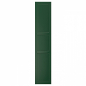 БУДБИН Дверь, темно-зеленый, 40x200 см