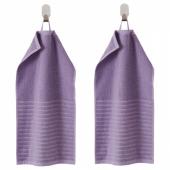 ВОГШЁН Полотенце, фиолетовый, 30x50 см