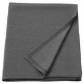 ОДДХИЛЬД Плед, темно-серый, 120x170 см