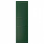 БУДБИН Дверь, темно-зеленый, 60x200 см