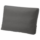 ФРЁСЁН/ДУВХОЛЬМЕН Подушка д/садовой мебели, темно-серый, 62x44 см